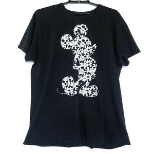 Disney (3X) Women's Black Mickey Mouse Graphic Top
